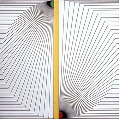 Torsion Artist: Edna Andrade Completion Date: 1973 Style: Op Art Genre: abstract