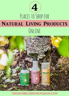 When I first began my natural living journey, I was at a loss for where to shop! I've found some great places to shop for natural living products online.