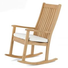 Veranda Wave Premium Teak Rocking Chair   Westminster Teak Outdoor Furniture
