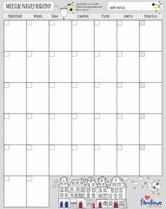 Kalendarz miesięczny - Planer Miesiąc Magnetic Familiowo    Kalendarz miesięczny - Planer Miesiąc Magnetic  Magnetyczna, suchościeralna tablica uniwersalną formatką miesiąca (Miesiąc Naszej Rodziny) do planowania rozmaitych wydarzeń w skali miesiąca.