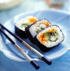 Sushi (nori rolls) are one of my favourite foods. It's perfectly balanced and so beautiful.