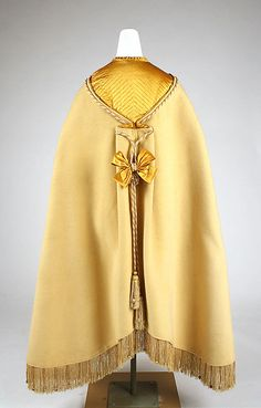 3-11-11  Cape  Date: 1850–69 Culture: American or European Medium: wool