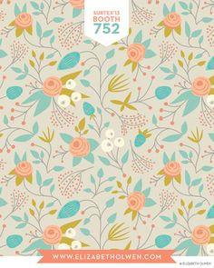 print & pattern: SURTEX 2013 - elizabeth olwen