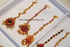 gold ruby-papidi billa designs