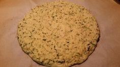 Zucchini Coconut Flour Pizza Crust
