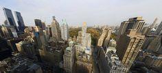 Showcase Manhattan's 9th Avenue Aerial 360 Panorama   New York USA