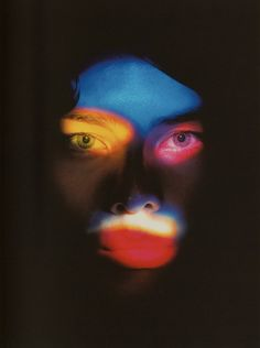 Nick Knight Masque de couleurs
