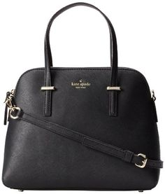 Amazon.com: kate spade new york Maise PXRU4470 Tote,Black,One Size: Shoes