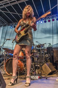 Blues Music Photography - Ana Popovic by TripleRPhotography on Etsy, $15.00