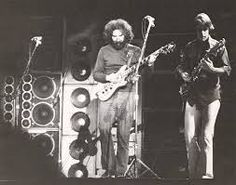 jerry and bobby in front of the wall of sound