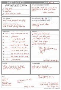 Simplemom.net - grocery list, chore chart, daily docket, etc