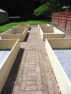 Buildng the kitchen garden-part one