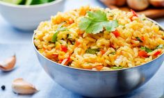 Welcome to how to make Nandos Spicy Rice In The Instant Pot. Discover the secret behind delicious Portuguese spicy rice cooked to perfection in the Instant Pot… Spicy Rice Recipe, Rice Pilaf Recipe, Rice Recipes, Dinner Recipes, Healthy Recipes, Pot Recipe, Healthy Rice, Homemade Spanish Rice, Spanish Rice Recipe