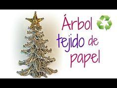 Cómo hacer un árbol de papel. How to make paper tree. - YouTube