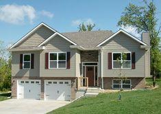 Attractive Split-Level Home Plan - 75005DD - 01