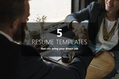 5 Resume Template to Boost Your Interview in 2018