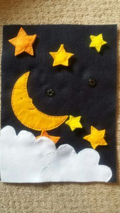 stars press stud quiet book page