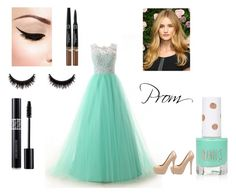 """""""prom"""" by taylahvass ❤ liked on Polyvore featuring Steve Madden, Topshop and Christian Dior"""