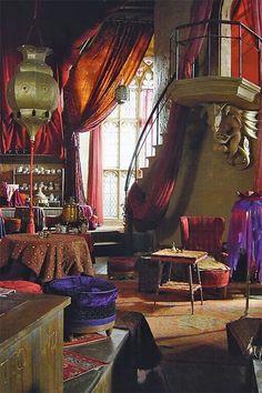 Comfy gypsy room
