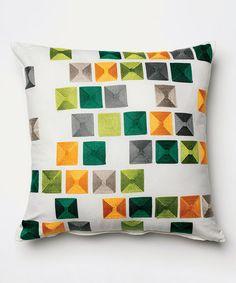 Look at this #zulilyfind! Zhara Decorative Accent Pillow #zulilyfinds