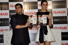 Shraddha Kapoor at Filmfare Magazine Launch Images