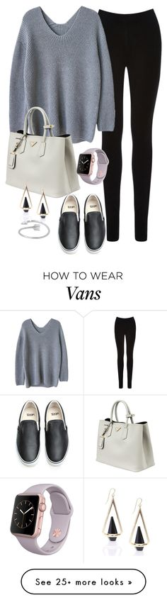 """Untitled #118"" by jasmineee338 on Polyvore featuring Oasis, Prada and Vans"