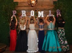 My Daughter and her friends Senior Prom