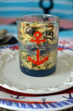 Anchors Aweigh and Nautical Fun on the Pontoon! | homeiswheretheboatis.net #boat #recipe