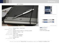 Promocionales Corporativos Kit Spiral