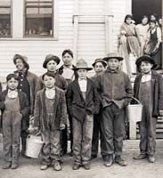 """""""We're Still Here."""" When off-reservation boarding schools opened in the 1880s, founder of Carlisle Indian Industrial School, Richard Pratt, announced with no apologies, """"Kill the Indian ... Save the man."""" More than one hundred tribes ceased to exist in the eyes of government when the Termination Era swept the country in the 1950s. No Washington tribes were terminated, but seven, like the Duwamish, remain unrecognized by the U.S."""