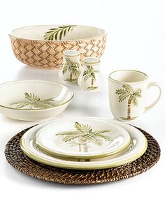 Gibson Dinnerware, Palm Court Collection