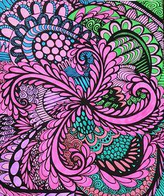 ColorIt Calming Doodles Volume 1 Colorist Diane Cole Adultcoloring Coloringforadults Doodle Adult ColoringColoring BooksDianeBook