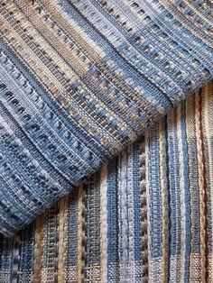 Zoe Howarth handwoven silk scarf | by Zoe Howarth
