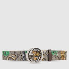 841832a979b Gucci Bengal GG Supreme belt Gucci Men