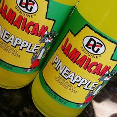 Who needs a pineapple soda to cool down?  #jamaica #pineapplesoda