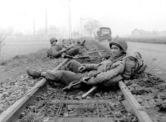 Soldiers rest