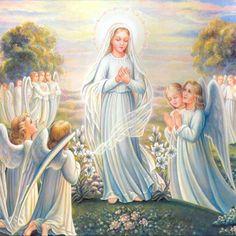 """""""Dia 8 de Setembro. Festa da natividade da Imaculada, nossa Rainha, senhora e terníssima Mãe.É por isso mesmo, ó Rainha, que neste querido dia de tua festa, nós te desejamos, de todo o coração e com..."""