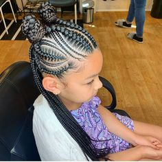 2019 Beautiful and Lovely Braids for Kids - Naloaded - 2019 Beautiful and Lovely Braids for Kids 2019 Beautiful and Lovely Braids for Kids - Little Girl Braid Styles, Kid Braid Styles, Little Girl Braids, Black Girl Braids, Braids For Black Hair, Braids For Kids, Girls Braids, Kid Braids, Tree Braids