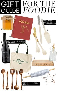 Gift Guide: For The Foodie