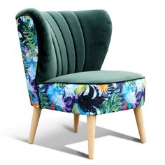 fotel klubowy koktajlowy PRL Accent Chairs, Diy, Furniture, Home Decor, Upholstered Chairs, Decoration Home, Bricolage, Room Decor, Do It Yourself