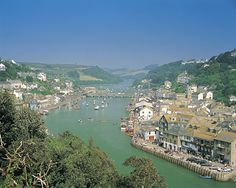 Looe, Cornwall. My little girls first holiday location.