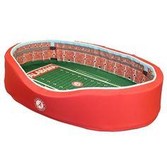 Alabama Crimson Tide Large Stadium Pet Bed