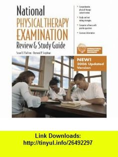 National Physical Therapy Examination Review and Study Guide Susan B. OSullivan ,   ,  , ASIN: B000H5I28A , tutorials , pdf , ebook , torrent , downloads , rapidshare , filesonic , hotfile , megaupload , fileserve