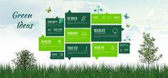 Green Ideas Presentation Template | ShareTemplates