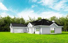 Projekt domu Rezydencja Parkowa 3 - 259,28 m2 - koszt budowy 361 tys. zł Home Fashion, Mansions, House Styles, Home Decor, City, Decoration Home, Room Decor, Fancy Houses, Mansion