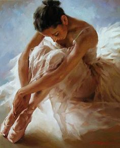 Kai Fine Art is an art website, shows painting and illustration works all over the world. Ballet Art, Ballet Dancers, Dance Photos, Dance Pictures, Ballerina Kunst, Ballerina Painting, Ballerina Drawing, Dance Paintings, Painting Art