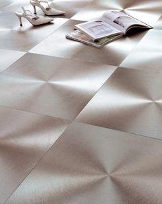 Metallic Swirl Floor Tile How amazing is this! Would just love this on my bathroom floor! Bathroom Flooring, Bathroom Ideas, Tile Floor, Tiles, Metallic, Amazing, Wall, Room Tiles, Tile
