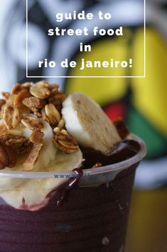 Rio de Janeiro's cuisine is influenced by Brazil's complex African, European, and indigenous roots. The best foods are found in the little stalls and bars - Rio de Janeiro street food! Get the scoop from a local! #foodietravelstreetfood
