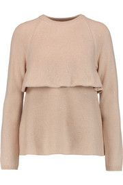 Brunello Cucinelli Embellished cashmere and silk-blend sweater