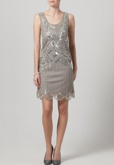 Frock and Frill ATHENA - Cocktail dress / Party dress - grey - Zalando.co.uk